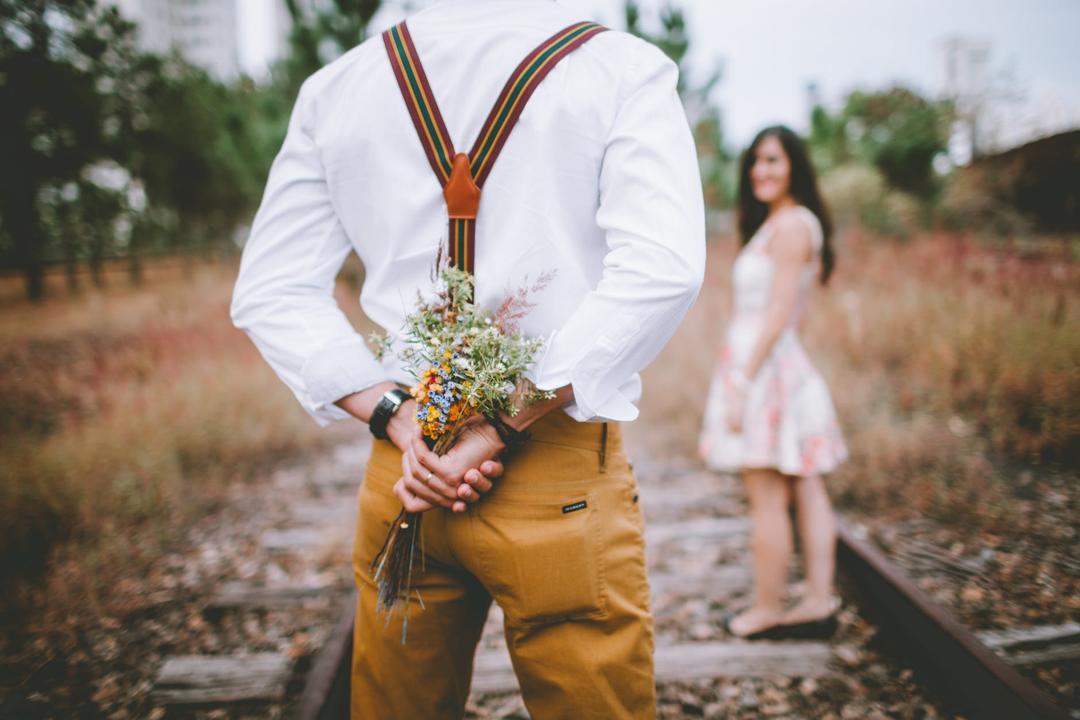 复古风格婚纱照