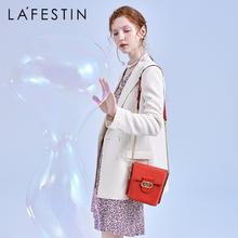 【下单赠丝巾】拉菲斯汀时尚链条小众质感水桶包