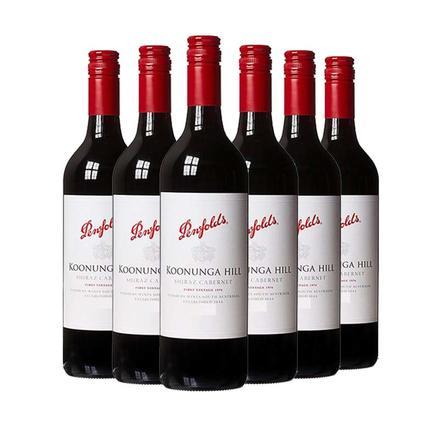 奔富寇蘭山西拉赤霞珠干紅葡萄酒750ml*6