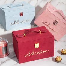 伴娘化妆箱烫金礼品盒