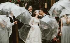 户外婚礼下雨怎么办  如何筹备户外婚礼
