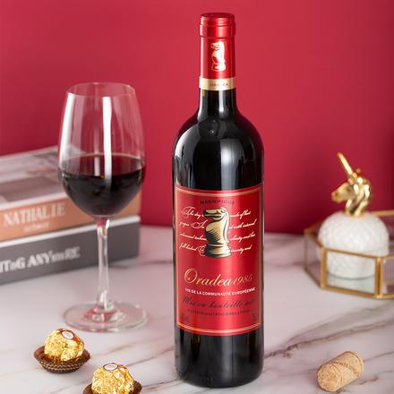 【法国原瓶进口】欧德萨红卡干红葡萄酒750ML