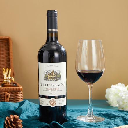 法国布勒塔尼拉图•嘉威干红葡萄酒