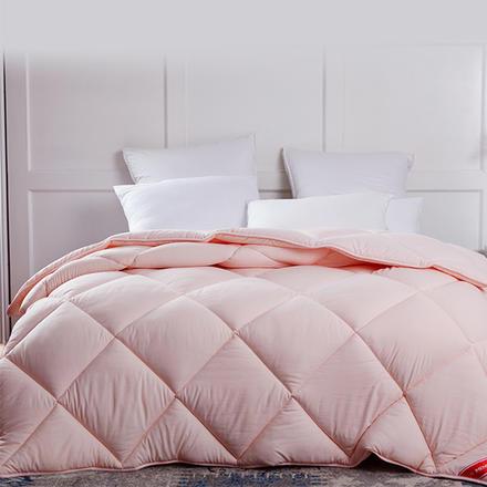 梦洁家纺 悦享十孔粉色 纯臻七孔被澳毛被 舒芯羊毛被