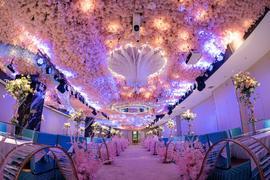 浪漫花海5D宴会厅