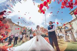 欧式花园草坪婚礼