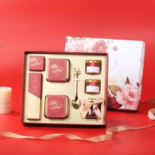 中式现代红高端喜糖礼盒伴手礼