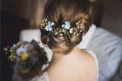 简易新娘发型怎么做
