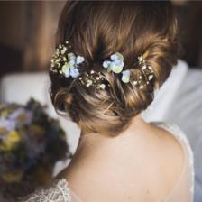 新娘短发造型图片  新娘短发造型推荐