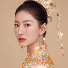 中式婚礼发型  六款中式发型推荐