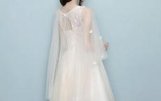 新娘禮服可以搭配什么披肩