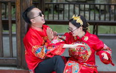 北京適合拍中式婚紗照的地方
