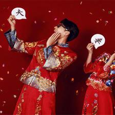 中式婚纱照有哪些风格
