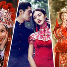 适合中式婚纱照的妆容有哪些