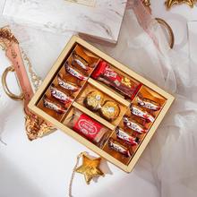 结婚喜糖礼盒成品含糖喜饼伴娘回礼订婚个性伴手礼