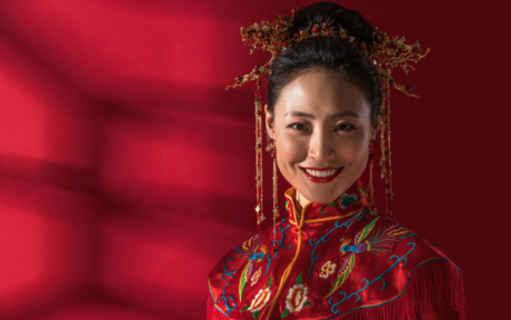 中式新娘妆分为几种