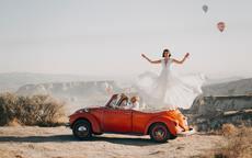 婚纱照相框照片怎么选 照片选近景还是远景