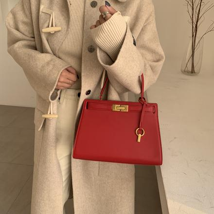 红色新娘包2020年新款潮秋冬百搭大气手提包包女