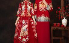 新娘穿中式礼服新郎怎么穿