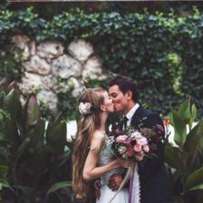 新婚祝词 小清新十个字