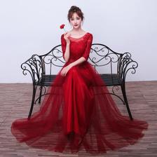 敬酒服必须是红色吗