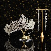 欧式巴洛克锆石新娘皇冠