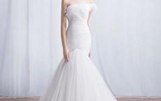 短发新娘怎么选婚纱礼服