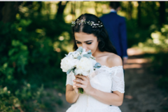 祝福新娘的美句