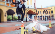 街拍婚纱照的取景地点 教你正确打开街拍婚纱照