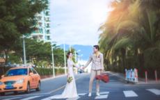 街拍婚纱照的注意事项