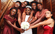 冬季結婚伴娘禮服如何選?