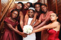冬季结婚伴娘礼服如何选?