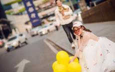 街拍婚纱照的最佳拍摄时间