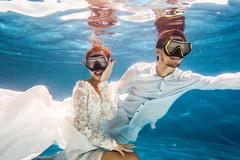 拍水下婚纱照穿什么好看 水下婚纱照穿衣攻略