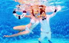 水下婚纱照妆容推荐 秒变美人鱼的妆容推荐