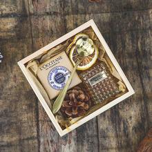 森系木盒伴手礼 多款丝带颜色可选