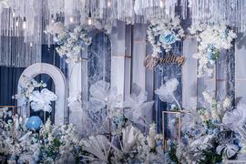 蓝色梦幻婚礼