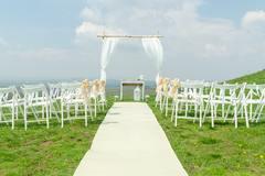 草坪婚礼怎么选婚纱礼服