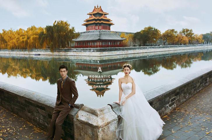 角楼婚纱照拍摄攻略