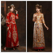 龙凤褂和秀禾服的区别 结婚应该穿秀禾服还是龙凤褂