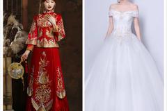 从娘家出门穿秀禾还是婚纱