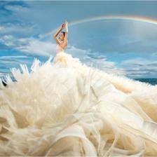 三亚湾拍婚纱照指南 三亚湾婚纱照欣赏