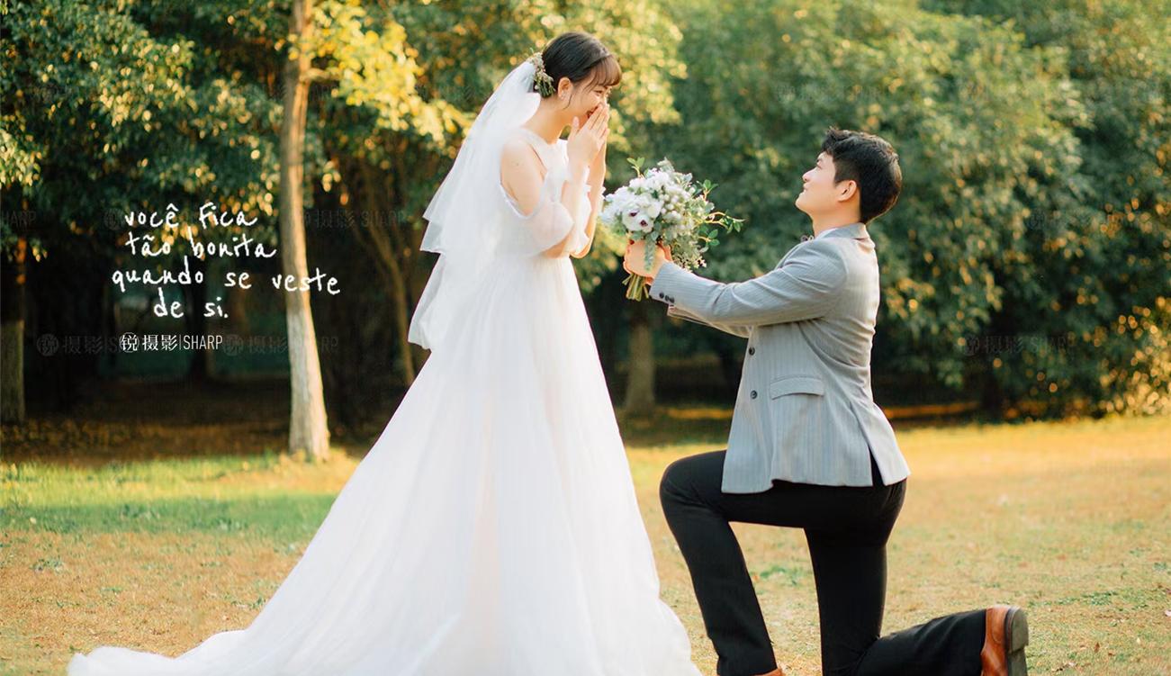 婚纱照28个姿势 拍婚纱照pose姿势大全