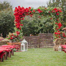 农村婚礼搭个舞台一般多少钱