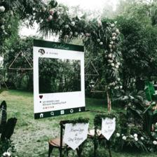 婚礼路引指示牌怎么写