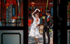 拍中式复古婚纱照 这6个技巧让你更好看