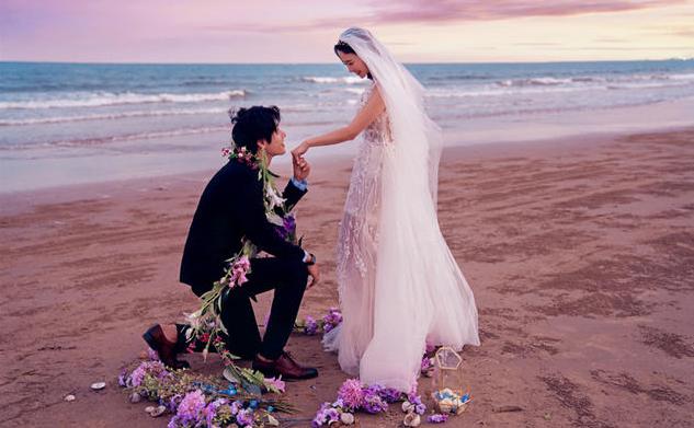 婚纱照姿势 7个pose教你拍出好看的婚纱照