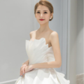 ??选对婚纱,155新娘穿出165既视感