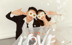 经常戴眼镜的人怎么拍婚纱照