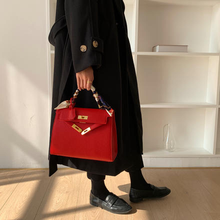 结婚包包新娘包红色包包女2021年新款斜挎大包包托特包大容量